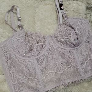 Victoria's secret unlined bustier